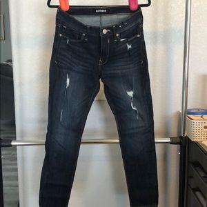 Express stretch Legging Mis-Rise Jean